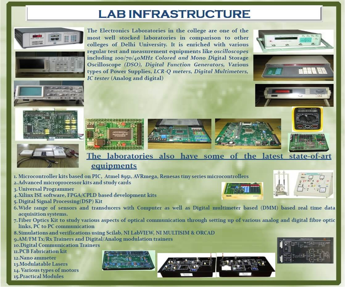 Electronics Infrstructure