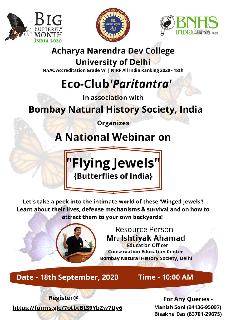 National webinar on 'Flying Jewels'