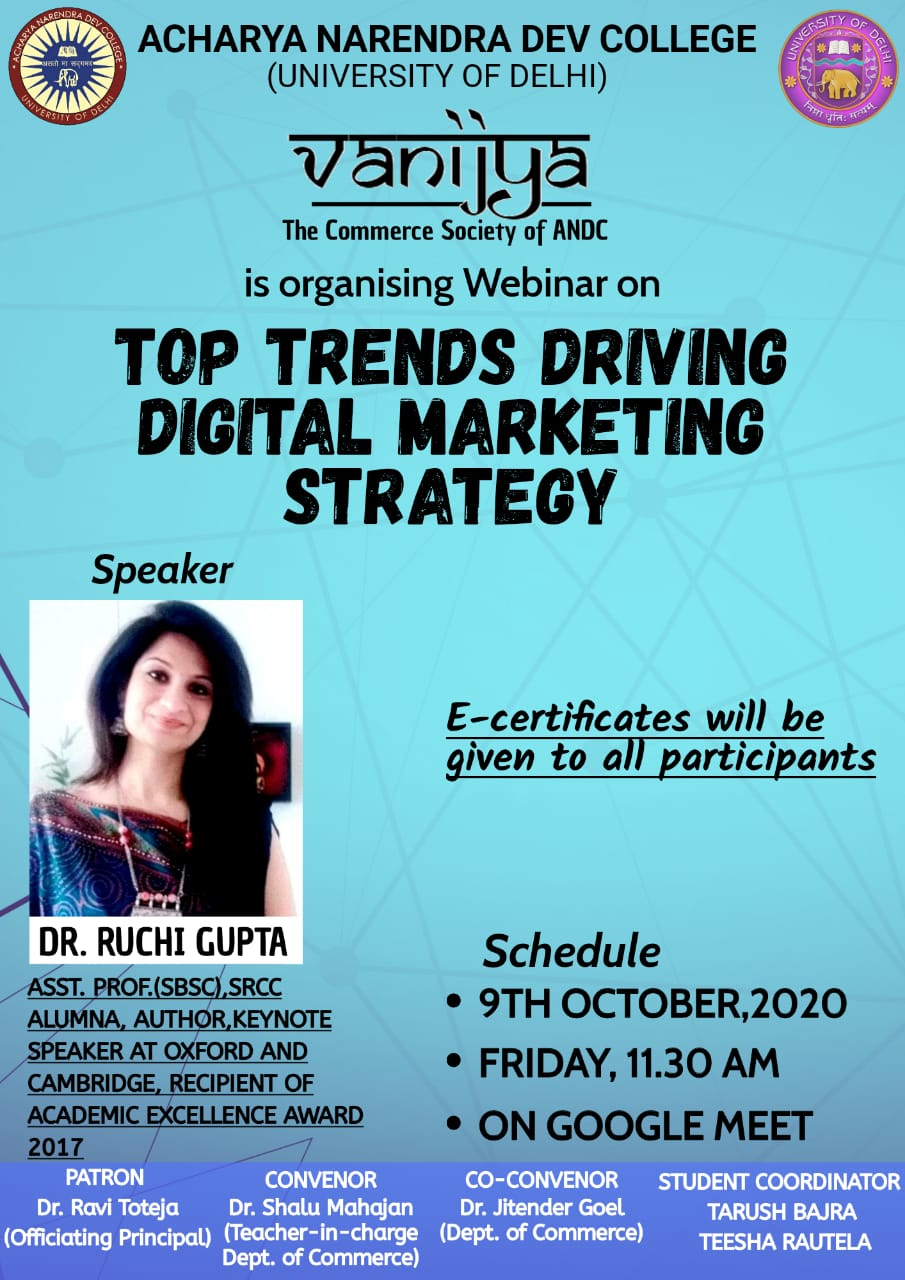 TOP TRENDS DRIVING DIGITAL MARKETING STRATEGY